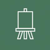 Il laboratorio basato sulla pittura e il disegno comeprocesso creativo per permettere all'ospite di realizzare e racchiudere nelle proprie opere pensieri ed emozioni al fine di valorizzare la propria creatività e sensibilità espressiva.