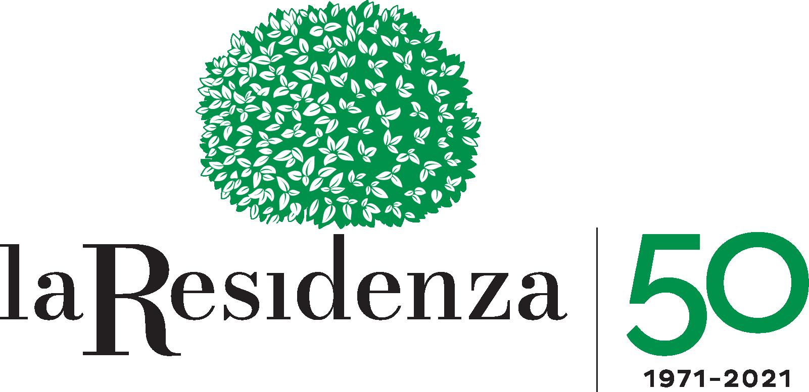 Logo_laResidenza+50 anni