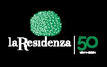 Logo_laResidenza+50 anni_WHITE-02